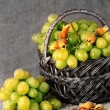 Stock Photo: Grapes
