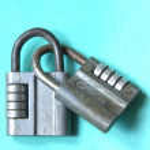 Old locks — Stock Photo