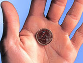 Euro cent — Stock Photo