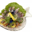 Dish Salad - Stock Photo