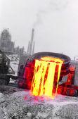 Steel industry — Stock Photo