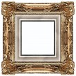 Gold frame — Foto de Stock