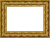 Gold a picture frame — Stock Photo