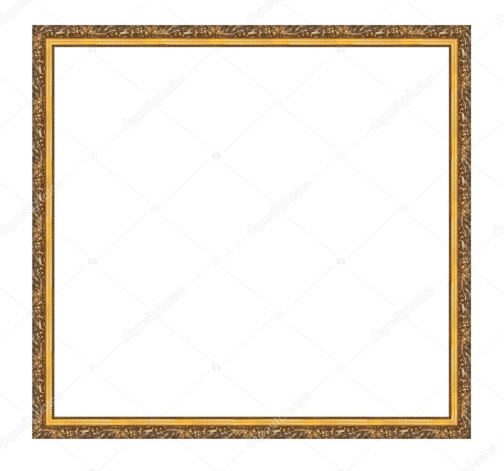 A picture frame on a white — Stock Photo #9503511