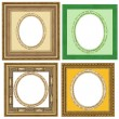 Gold frame — Stock Photo #9510023