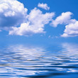 Sea on a background of the sky — Stock Photo
