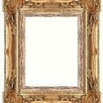 Gold frame — Stock Photo #9511632