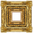 Gold frame — Stock Photo #9511950