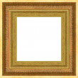 Royalty-Free Stock Photo: Gold frame