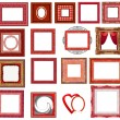 Royalty-Free Stock Photo: Red frame