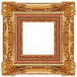 Gold frame — Stockfoto