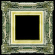 Gold frame - Foto Stock
