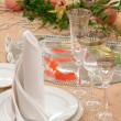 Table layout — Stock Photo #9519158