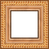Silver frame — Stockfoto
