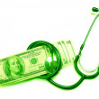 Green dollar - Stock Photo