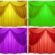 Curtain — Stock Photo #9521574