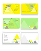Business cards set — Stock Vector