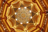 Emirates Palace ceiling — Stock Photo