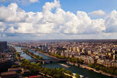 Paris under the sky — Foto Stock