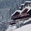 Stock Photo: Alpine chalet