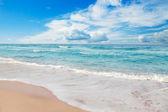 Idyllic beach — Stock Photo