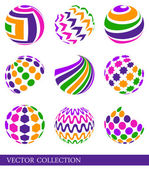 Colorful elements — Stock Vector