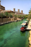 Madinat Jumeirah Channel — Stock Photo