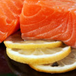 salmon sashimi — Stock Photo #8914559