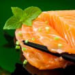 Salmon sashimi — Stock Photo #8914581
