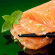 salmon sashimi — Stock Photo #8914585