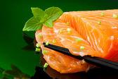 Salmon sashimi — Stock Photo