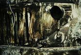 Textuur van een oude auto — Stockfoto