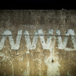 Stock Photo: Abstract graffiti on the wall.