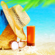 Summertime holidays background — Stock Photo