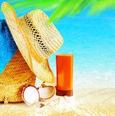 Summertime holidays background — Stock Photo