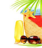 Diversão de verão conceitual fronteira — Foto Stock