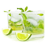 Cold mojito drink — Stock Photo
