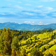 Panoramic mountains landscape - Stock Photo
