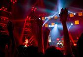 Disco party concert — Stock Photo