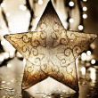 Star, Christmas tree ornament — Stock Photo