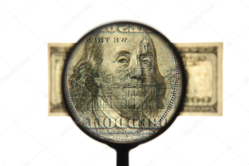 Dollars against white background — Stock Photo #8055448