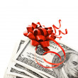 Money gift - Stock Photo