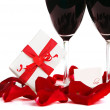Romantic holiday celebration — Stock Photo #8247404