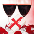 Stock Photo: Romantic holiday celebration