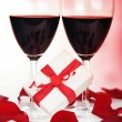Romantic holiday celebration — Stock Photo #8247448