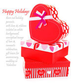 Romantische weihnachtsgeschenke — Stockfoto