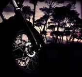 Motosiklet tekerlek — Stok fotoğraf
