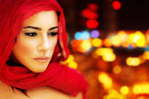 Beautiful arabic woman — Photo
