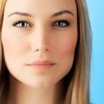 美丽的脸的女人 — 图库照片