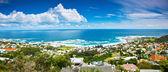Cape Town city panoramic image — Stock Photo